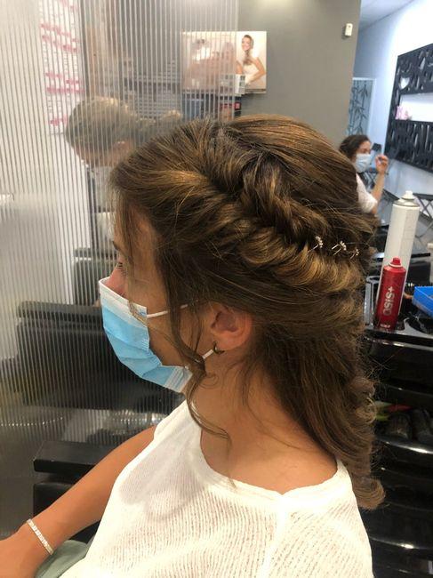 Nuestros peinados y maquillajes de novia 3