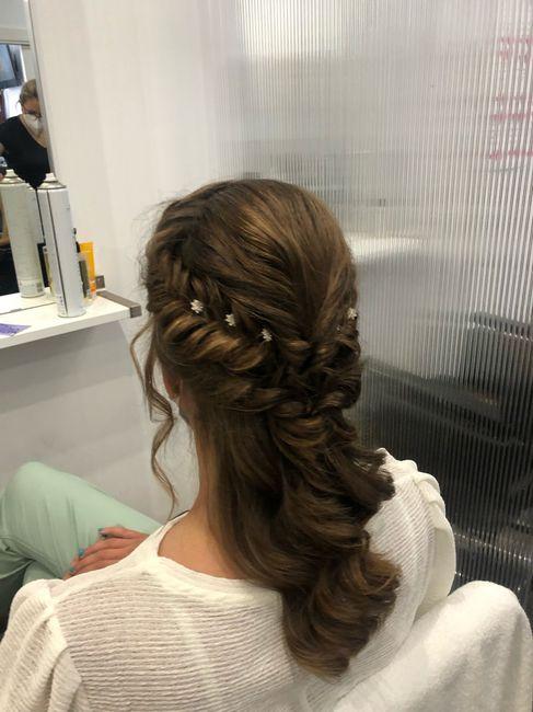 Nuestros peinados y maquillajes de novia 4