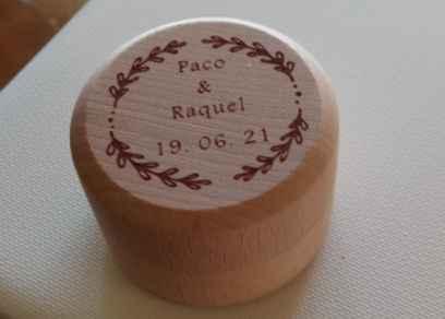 Caja anillos personalizada - 1