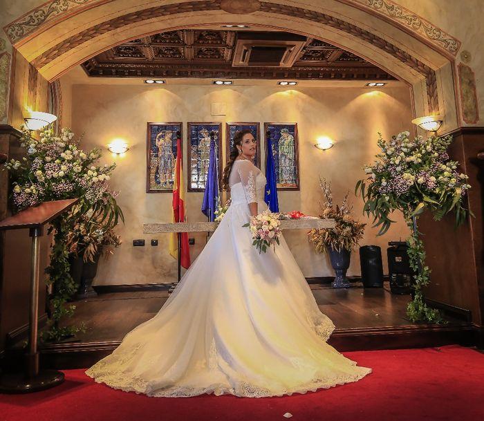 Vestidos boda marzo 2021. 2