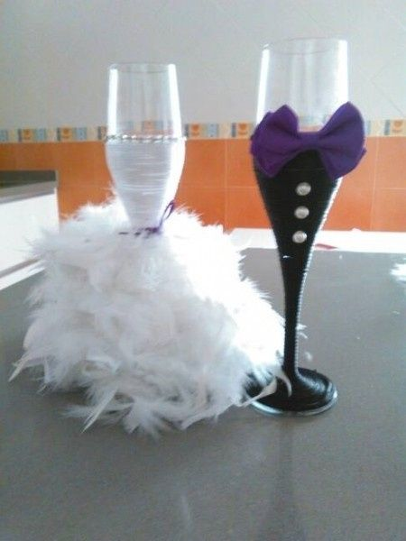 Decoraci n copas para el 1er brindis p gina 2 for Imagenes de copas brindando