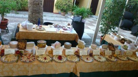 Bufet de quesos para la recepci n banquetes foro - Mesa de quesos para bodas ...
