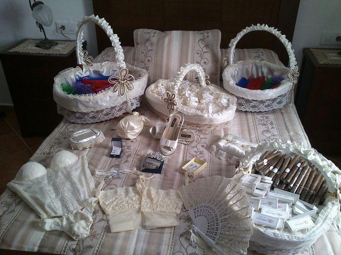 Cestas para petalos y regalos de boda manualidades foro - Manualidades regalo boda ...