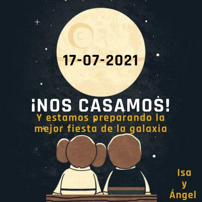 """Nuestro """"reserva la fecha"""" ♾ 2"""