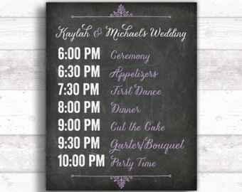 Programa de la boda, sos - 1