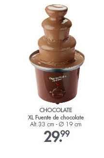 Fuente de chocolate tienda Casa