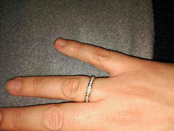 Cómo es vuestro anillo o símbolo de compromiso? - 1