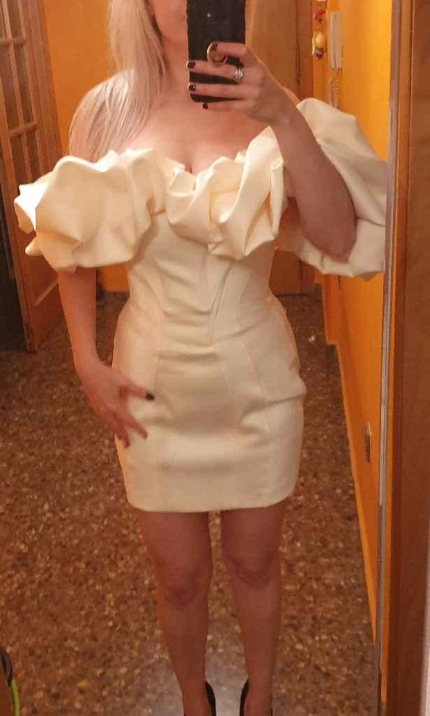 ¿Segundo vestido? ¿Sí o no? - 1