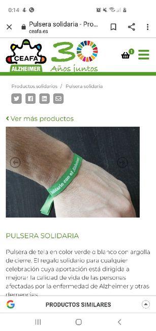 Pulseras Solidarias Alzheimer 2