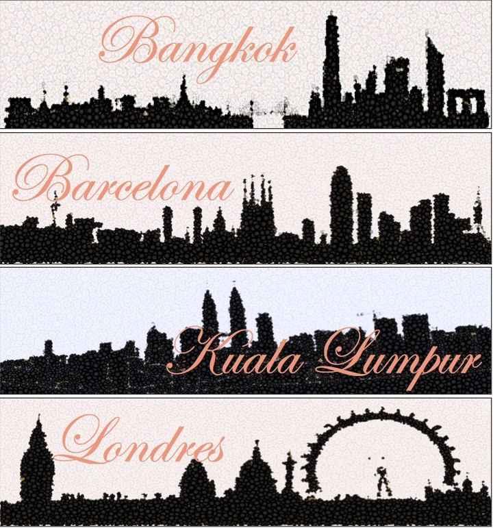 Meseros ciudades