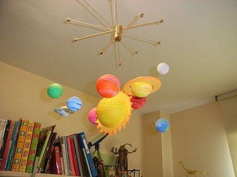 Decoraci n sistema solar fotos for Decoracion el universo del hogar