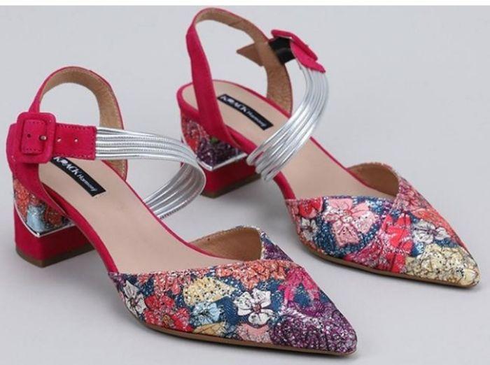 Zapatos de novia múlticolores 1