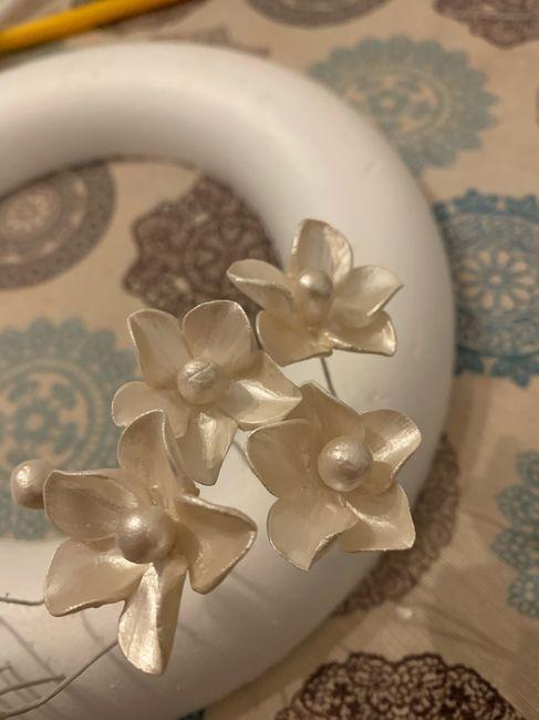 """Tocado porcelana fría """"hand made"""" 2"""