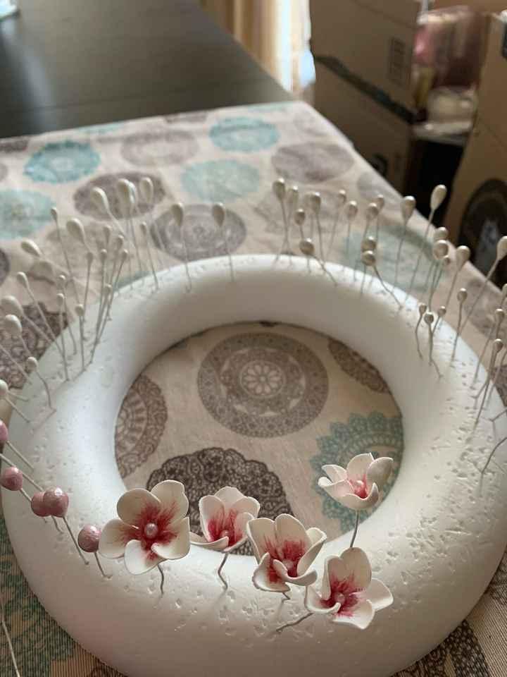 """Tocado porcelana fría """"hand made"""" - 1"""