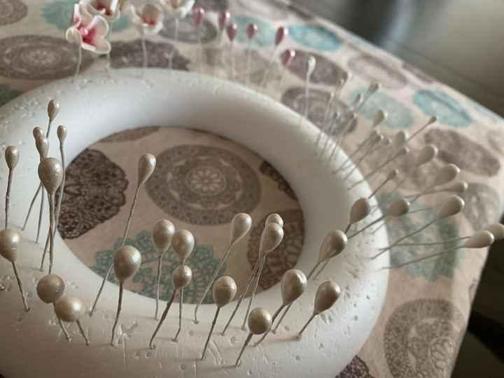 """Tocado porcelana fría """"hand made"""" - 2"""