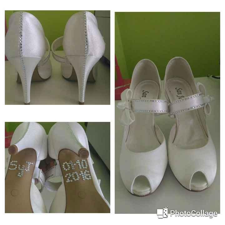 Mis zapatos tuneados - 1