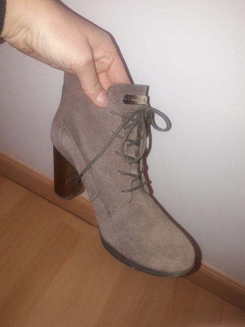 Botines cordones para novia boho o zapatos ante - 1