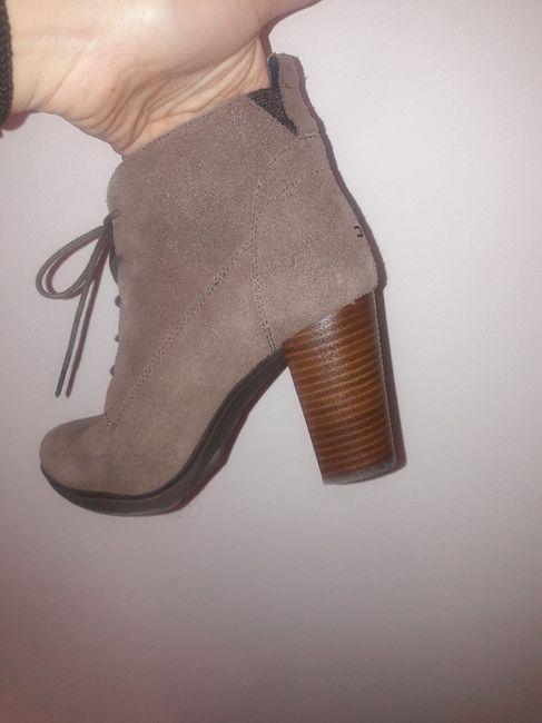 Botines cordones para novia boho o zapatos ante - 2