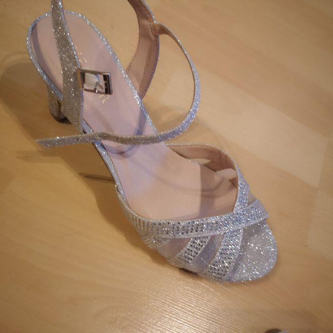Zapatos brillo, adecuado para novia? 2