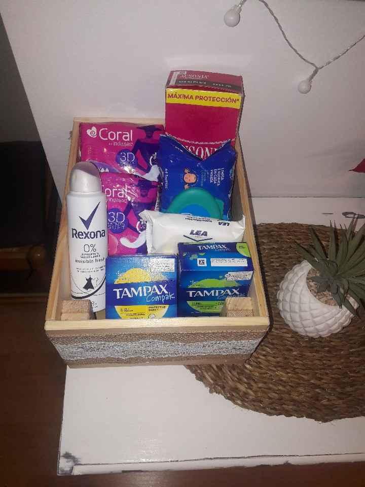 Cesta baño mujeres -higiene íntima - 1