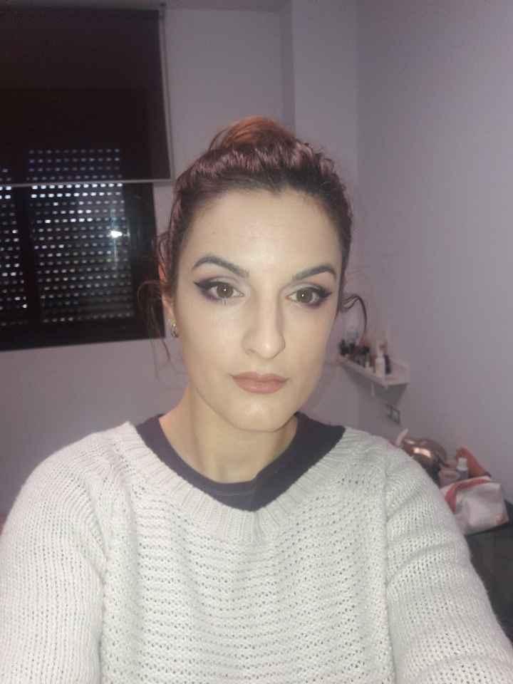 Tonos morados maquillaje novia 1 - 1