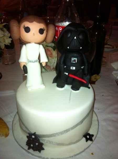 Tarta Star Wars