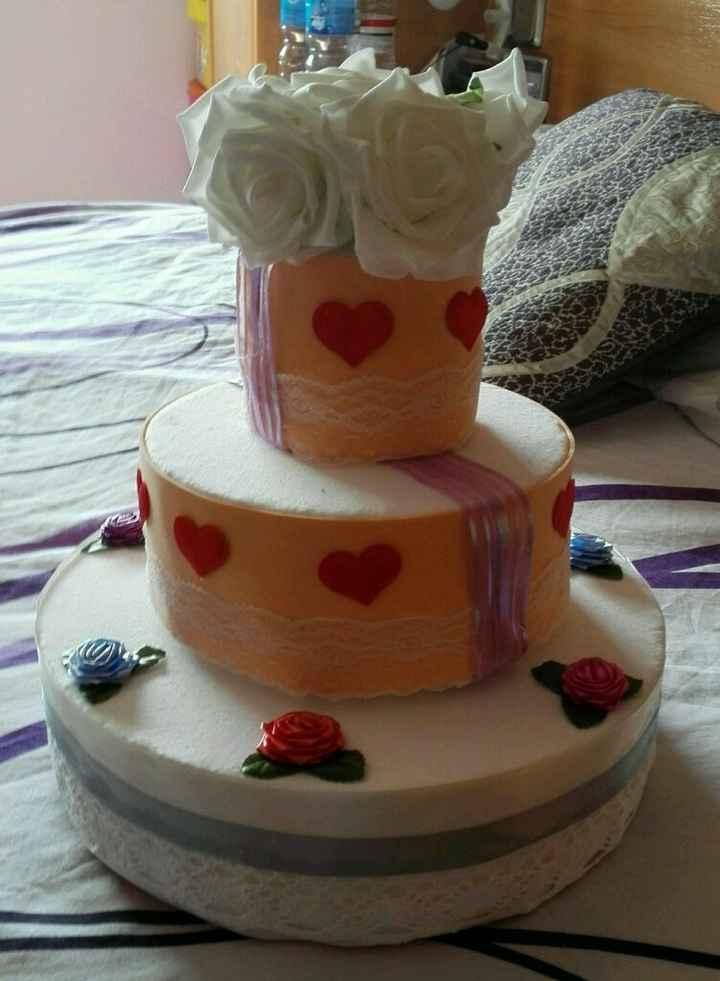 Mi tarta falsa - 1