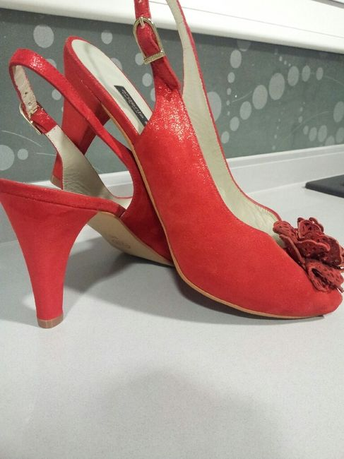 55027f14 Zapatos rojos argenta - Moda nupcial - Foro Bodas.net