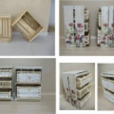 Cajas de fruta manualidades foro - Manualidades con cajas de fruta ...