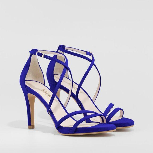 Zapatos de novia de color 2