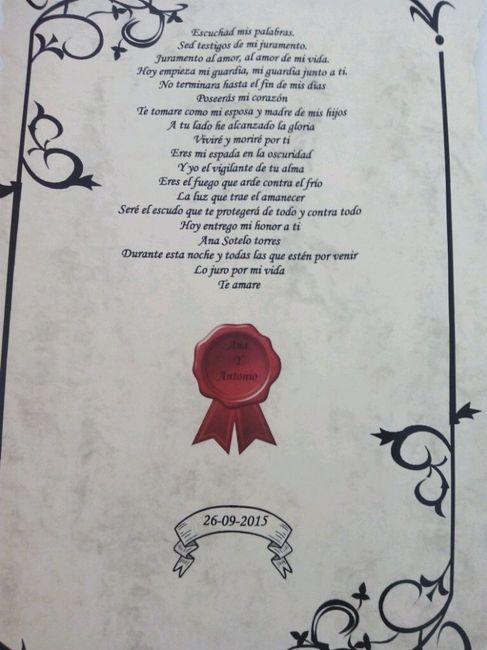 Juramento En El Matrimonio Catolico : Votos juego de tronos ceremonia nupcial foro bodas