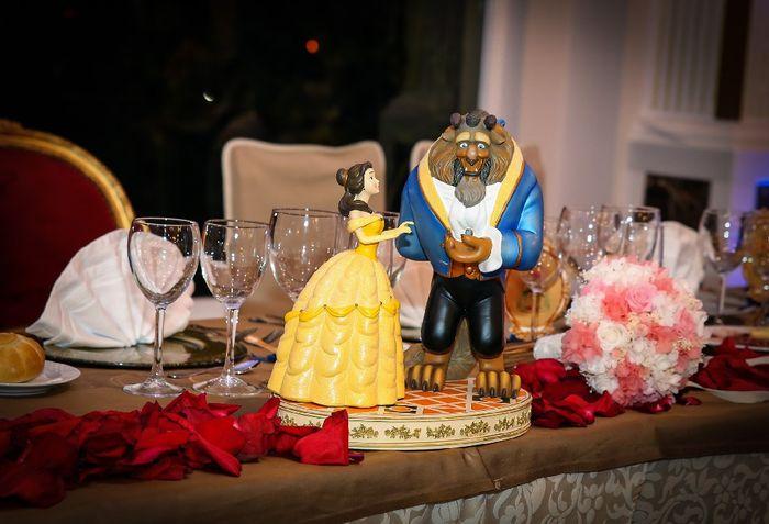 Nuestra boda con temática bella y bestia 6
