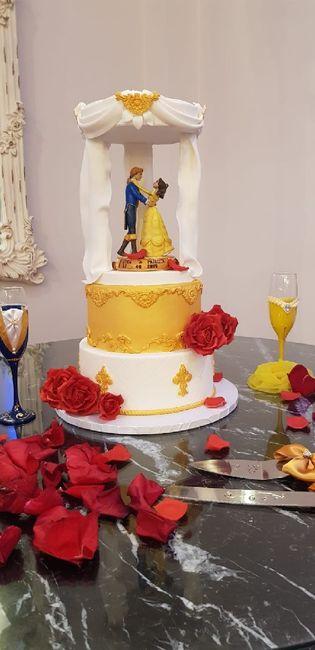 Nuestra boda con temática bella y bestia 21