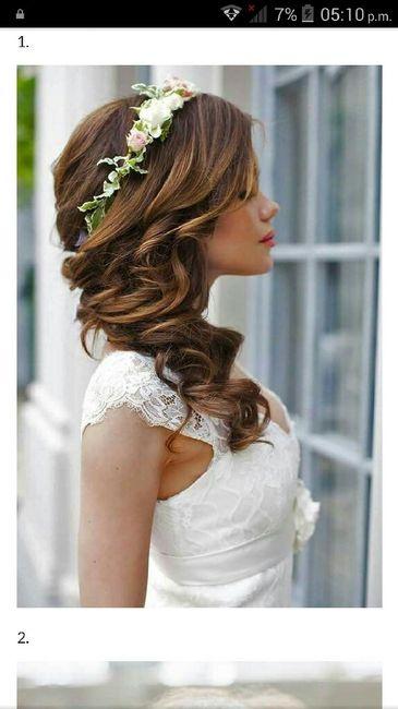 Peinados novia escote corazon