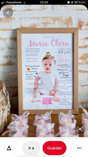 Collage foto bebé por años 1