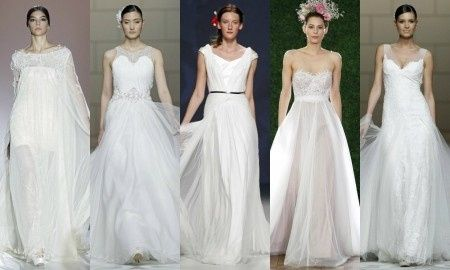 Tendencias de novia 2015: Vestidos ultraligeros