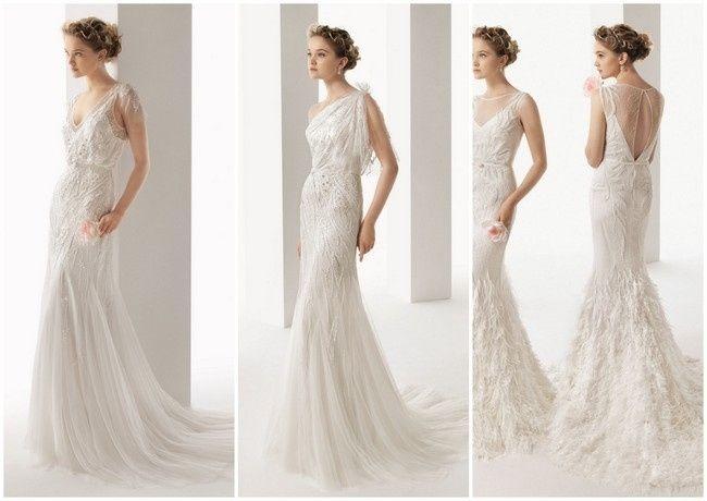 Vestidos de novia para brillar como una estrella - Moda nupcial ...