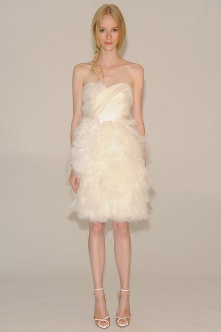 Colección 2014 de la marca marchesa - Moda nupcial - Foro Bodas.net