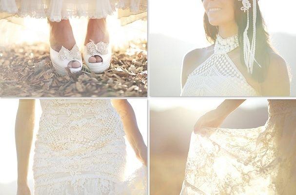 Vestido novia raquel del rosario