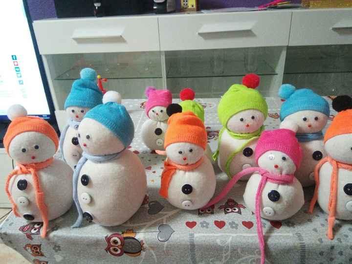 Muñecos de nieve - 1