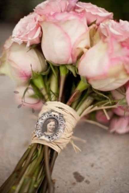 Recuerdo en el ramo de novia - 2