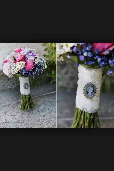 Recuerdo en el ramo de novia - 3