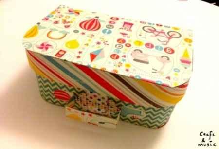 maleta de cartulina