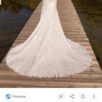 Duda entre vestidos Pronovias - 2