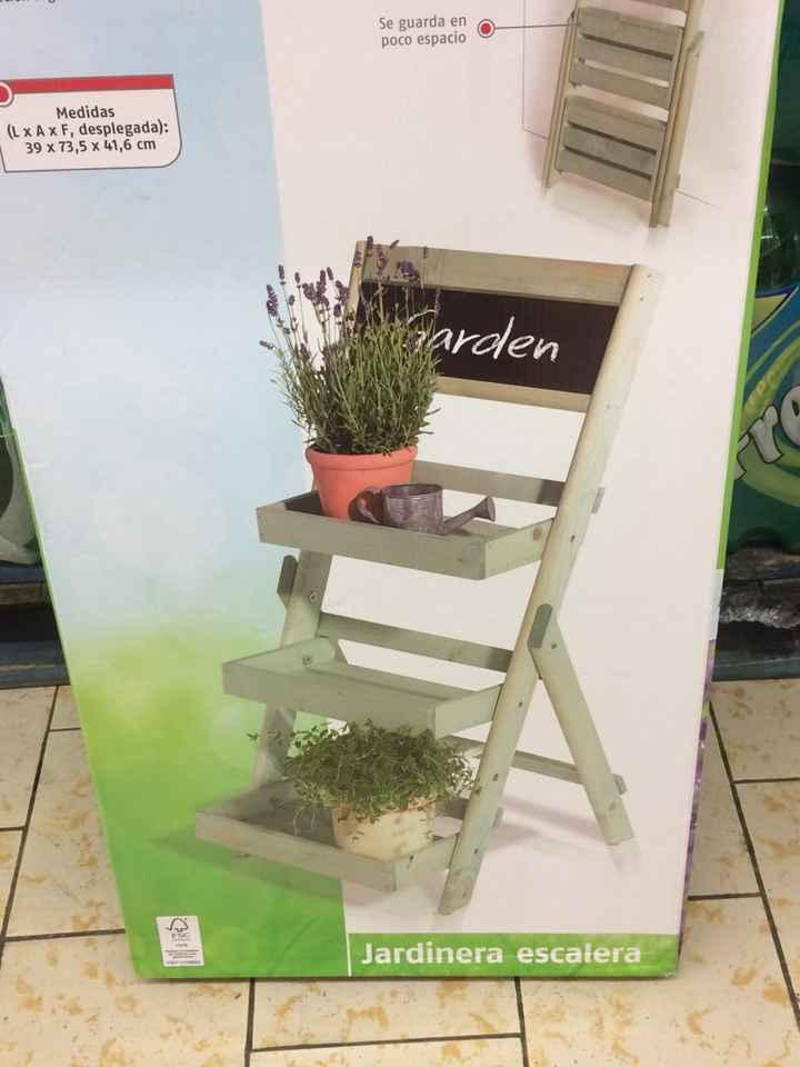 Mueble de jardin para colocar confeti en lidl - 1