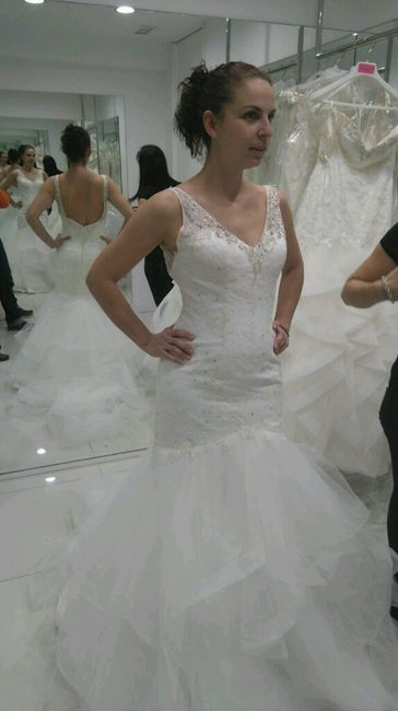 cambio de vestido otra vez dudas - moda nupcial - foro bodas