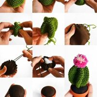 Macetas crochet - 1