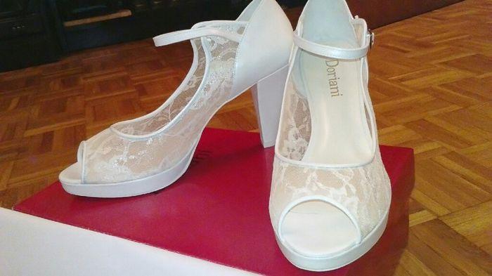 Vuestros zapatos de novia - 2