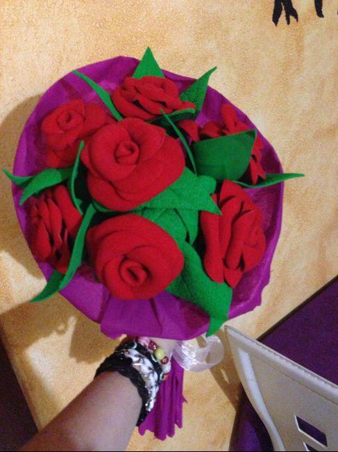 Tutorial Ramo De Rosas Rojas Goma Eva Manualidades Foro Bodas Net
