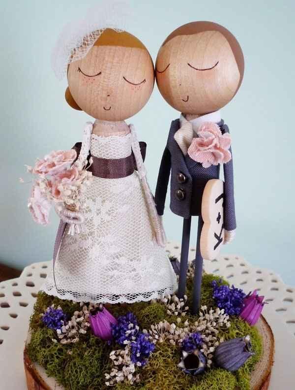 Os gustan mis muñecos para la tarta? - 1